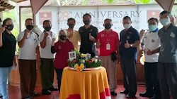 HUT ke 28 The Jayakarta Lombok, Stay Happy, Stay Healthy and Strong