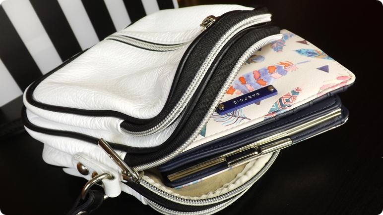 cdc71cff05700 Portfel mieści się nawet do mojej najmniejszej torebki (którą nazwałam  TicTac). Dla mnie jest idealny. A co więcej - nie wydałam na niego fortuny  ...