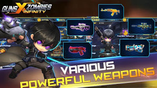 Guns X Zombies Mod Apk v2.3 Terbaru (Unlimited Money)