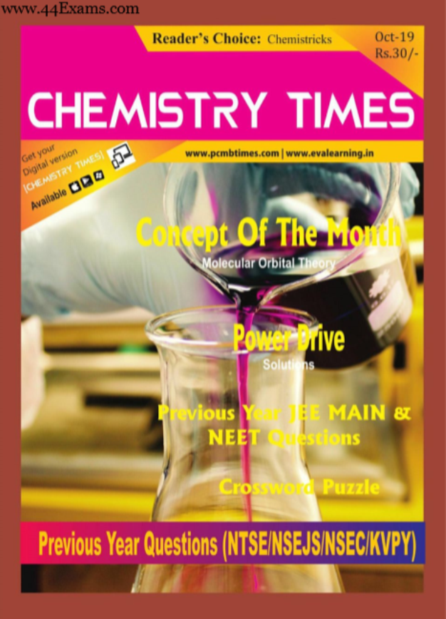 Chemistry-Times-Magazine-October-2019-For-NEET-JEE-Exam-PDF-Book