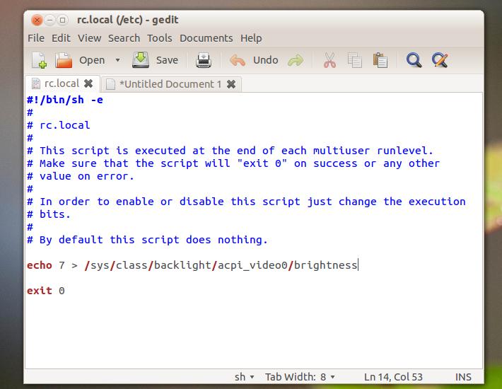 Fix: Screen Brightness Resets To Lowest Level On Ubuntu