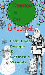 CHALLENGE #80 - CHRISTMAS IN JULY