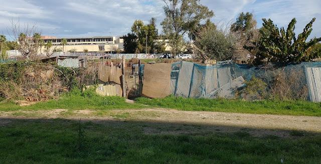 Imagen 6: En Benimaclet sigue las mismas pautas que en otras ciudades y pueblos de la Comunidad Valenciana: Masías, casas y tierras ocupadas, chabolas construidas en solares.