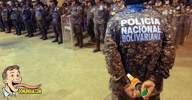 Pueblo de Maturín le quitó las armas a dos PNB por andar ebrios