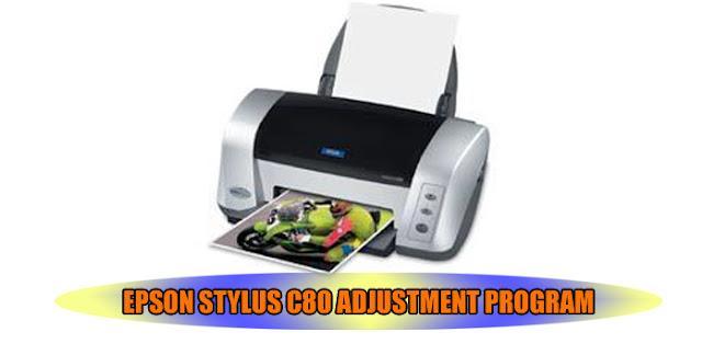 Epson Stylus C80 Printer Adjustment Program