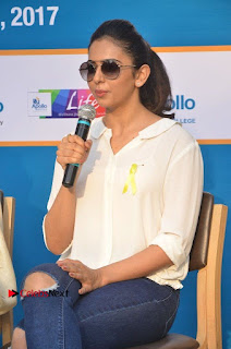 Actress Rakul Preet Singh at Endometriosis Awareness Walk at Apollo Cradle  0069.jpg