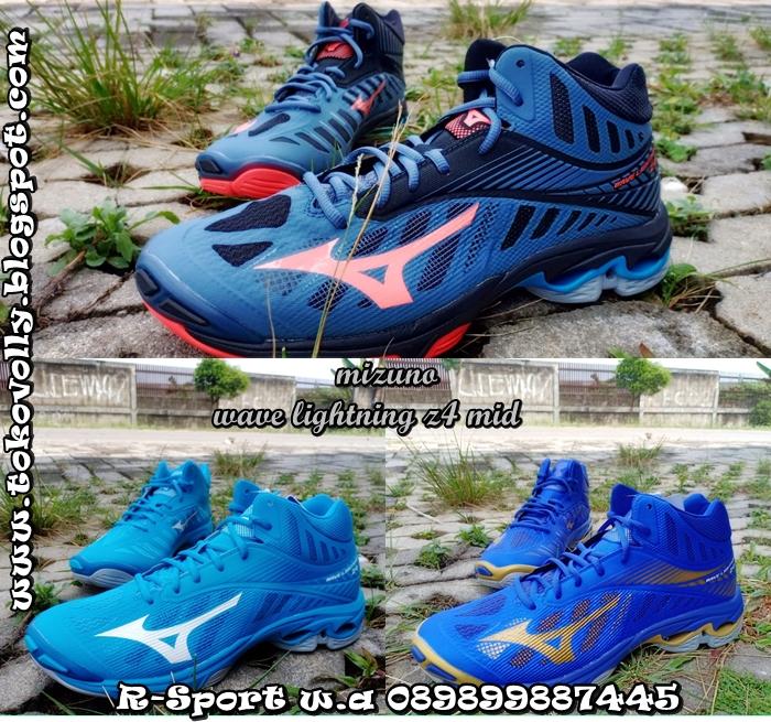 Sepatu Volly Mizuno Wave Lightning Z4 MID Original Murah Berkualitas Dan  Ada Beberapa Pilhan Warma   76f426b1e4