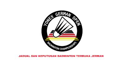 Jadual Badminton Terbuka Jerman 2020 (Keputusan)