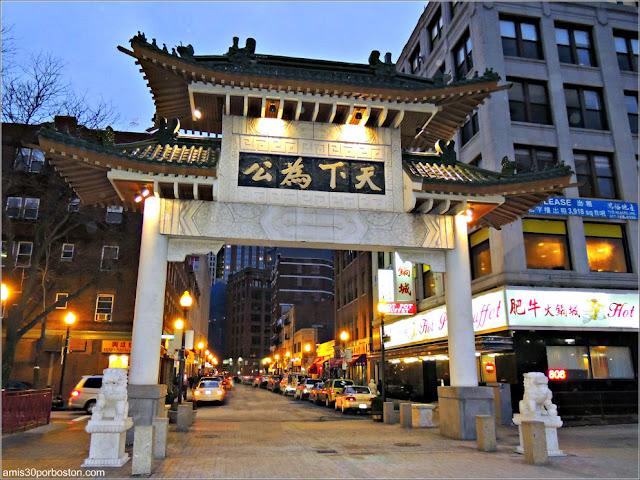 Puerta de Chinatown, Boston