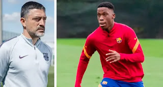 'There are Barca B players who can play at the first team: Barca B team coach  Pimienta