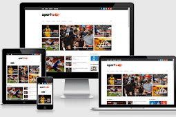 Sports Mag Responsive Sports Blogger Template Free Download