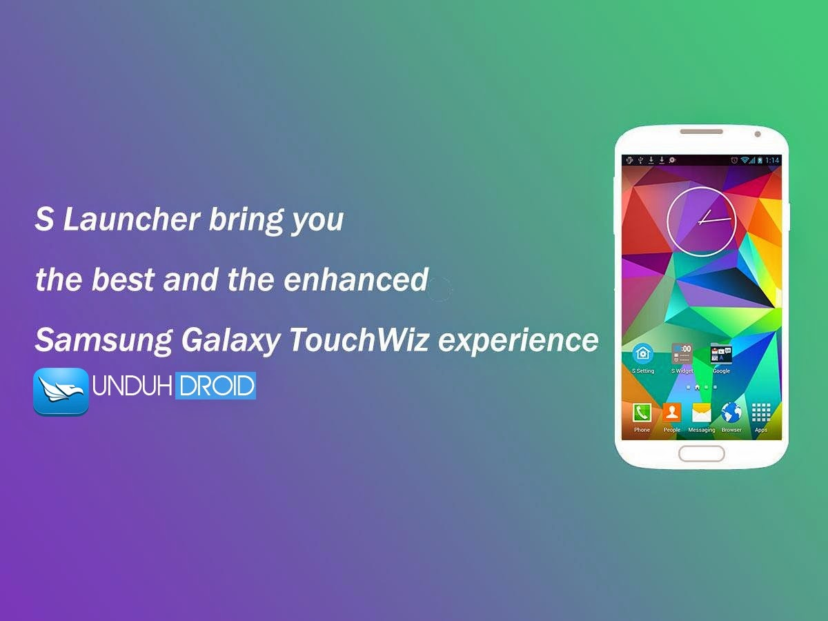 Download S Launcher Prime Galaxy S5 v3.0 Apk
