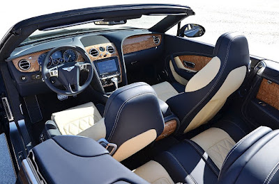 Alta costura Continental GT Bentley