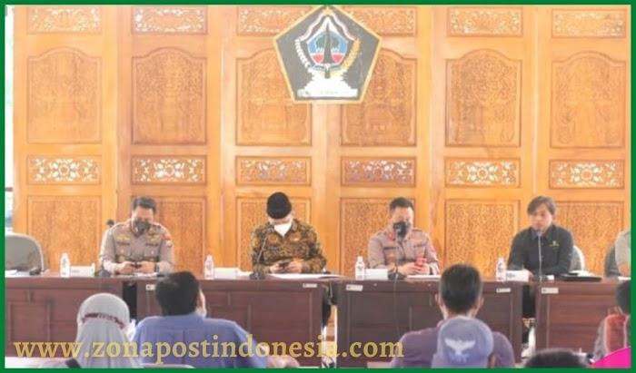 Polres Blitar Kota Fasilitasi Pertemuan Antara Peternak Unggas di Kabupaten Blitar dan Pemkab Blitar