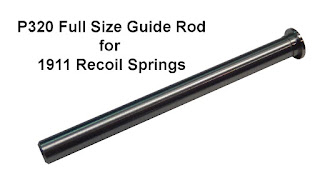 Sig P320, 1911 Recoil Spring, Stainless Steel Guide Rod, P320 Guide Rod