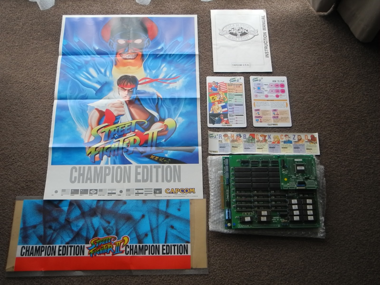 Capcom Addict Cps1 Street Fighter 2 Dash Champion Edition Kit