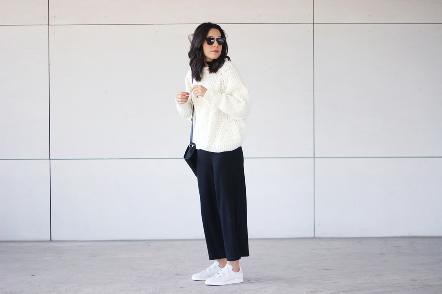STRAP STAN SMITH BIMBA Y LOLA KNIT SWEATER