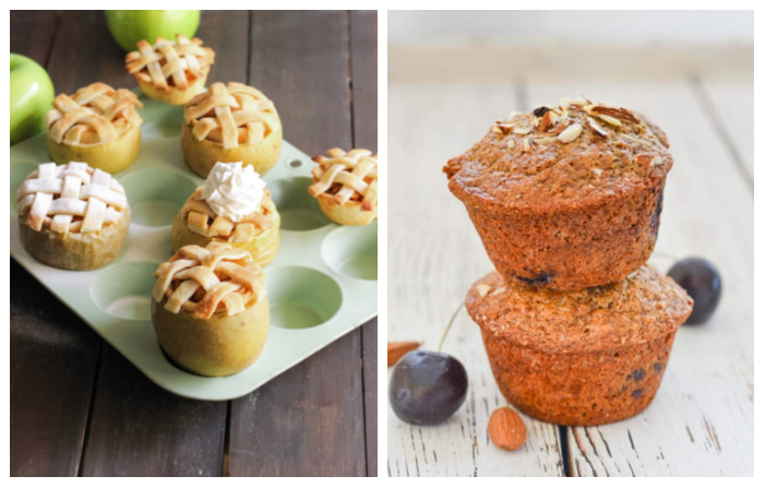 Photo of Guilt-Free Apple Pie in an Apple and Almond Cherry Muffins