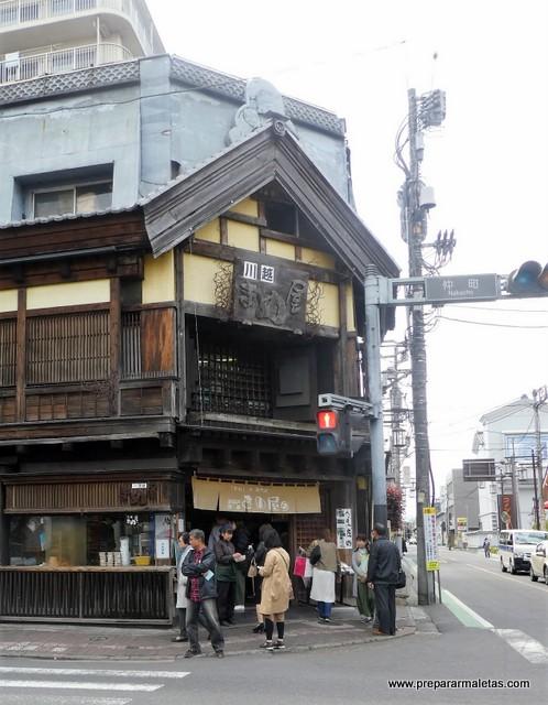 restaurantes clásicos en Kawagoe, Japón