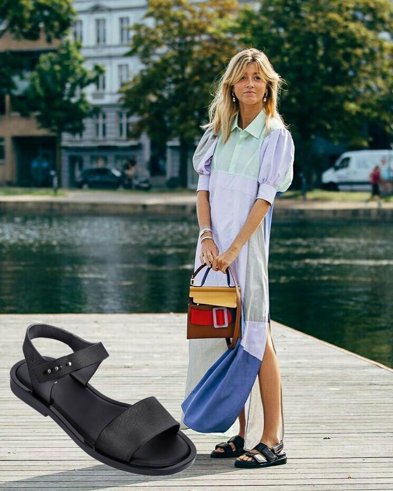7 looks de verão com sandália rasteira ou mule para copiar