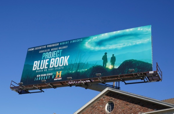 Project Blue Book series premiere billboard