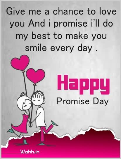 promise day shayari in english Images