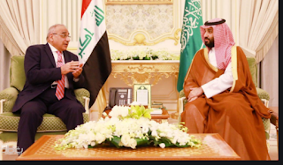 محمد بن سلمان وعادل عبد المهدي يلتقيان لمناقشة الهجوم النفطي السعودي