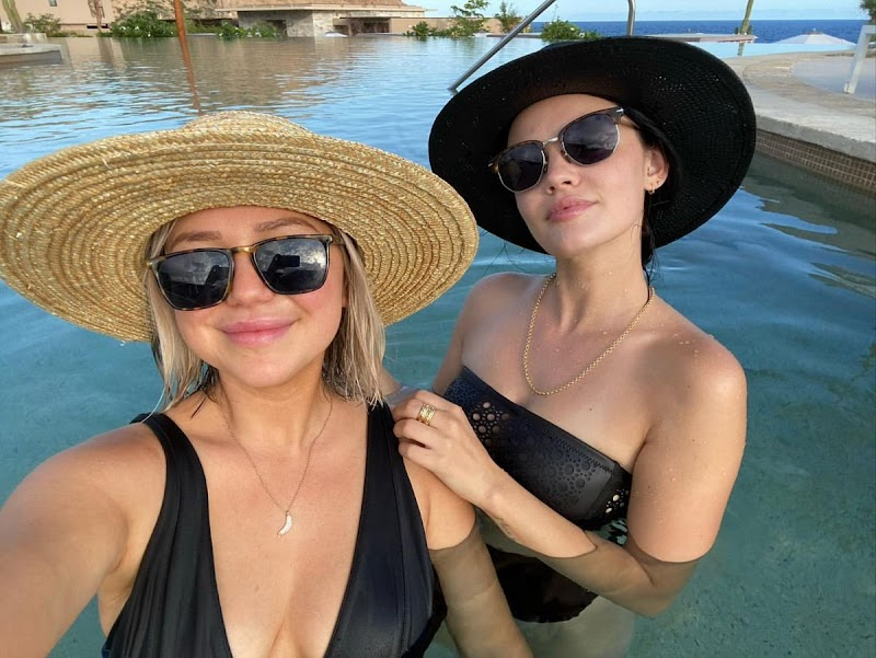 Lucy Hale in Bikinis – Instagram Snaps Sep -2020