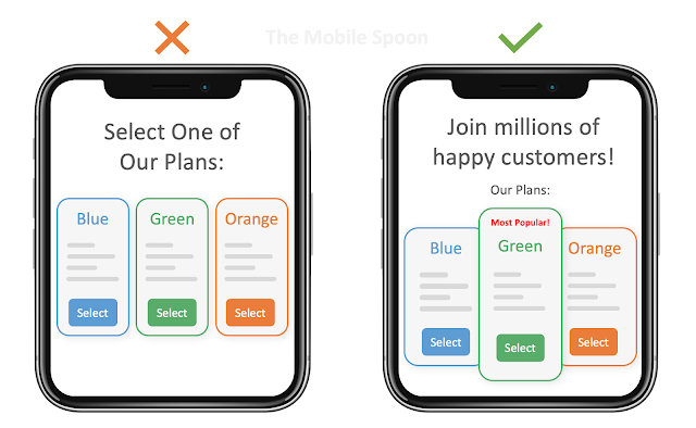 "Bandwagon Effect - The ""Most Popular"" Example (the mobile spoon)"