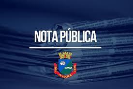 NOTA PUBLICA DA PREFEITURA DE AVARÉ