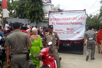 Pemkab Wajo Gelar Operasi Pasar Gas Elpiji