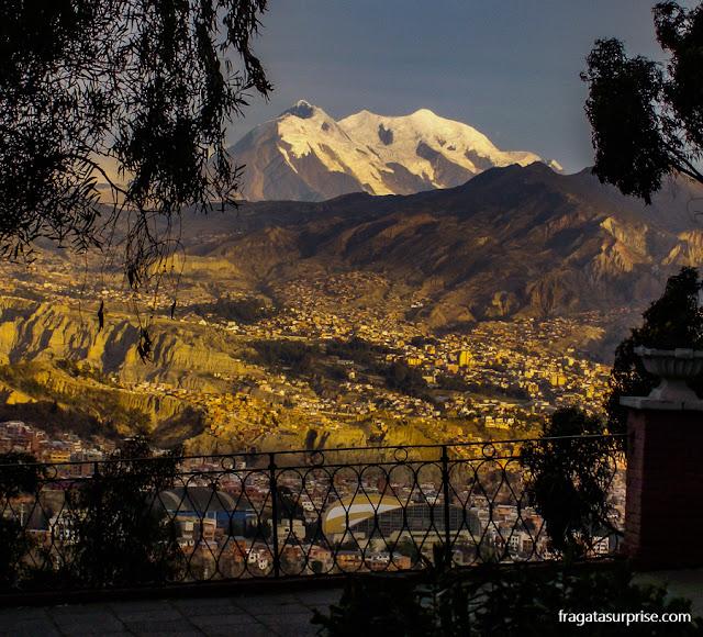 La Paz, Bolívia - Pico Illimani
