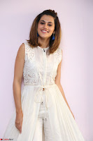 Taapsee Pannu in cream Sleeveless Kurti and Leggings at interview about Anando hma ~  Exclusive Celebrities Galleries 070.JPG