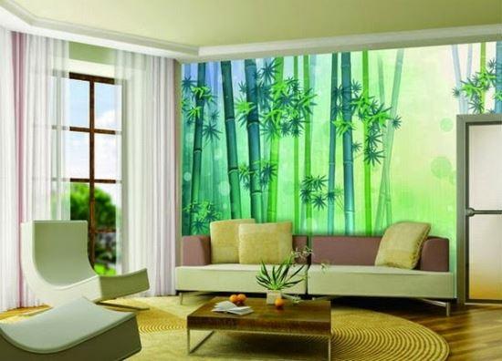Wallpaper Dinding Ruang Tamu Rumah Minimalis