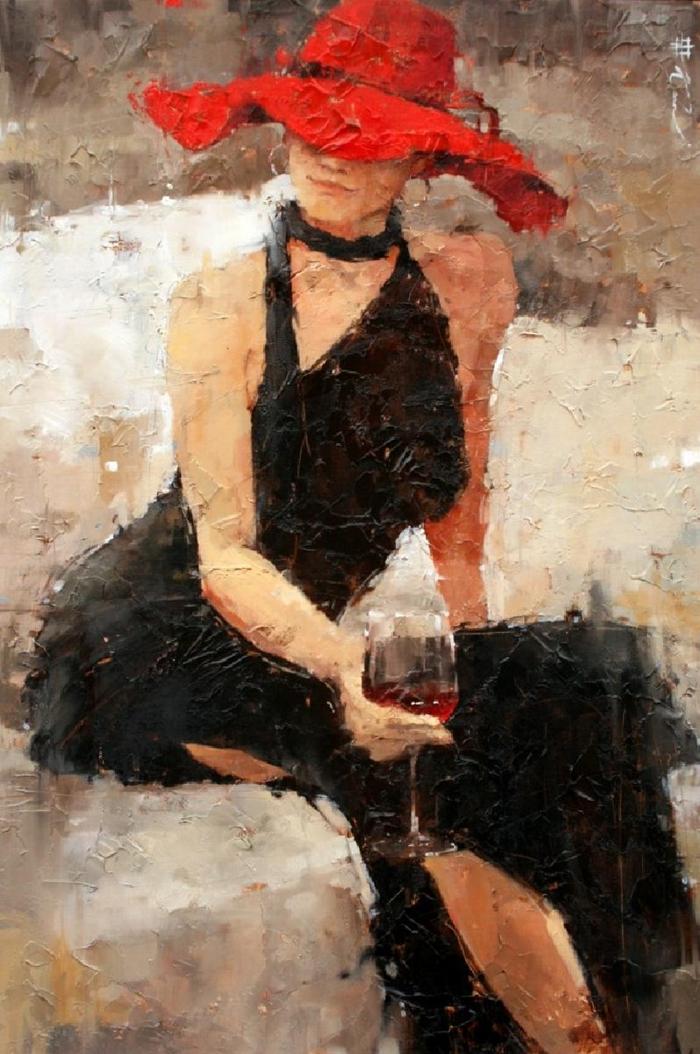 Andre Kohn, 1972   Impressionist Figurative painter   Tutt