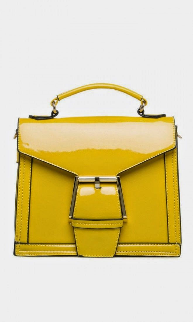 Pinterest find - Sunshine Yellow Bag