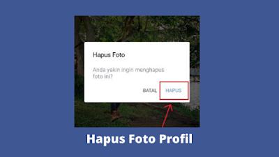 Cara Menghapus Foto Profil Di Facebook Terbaru