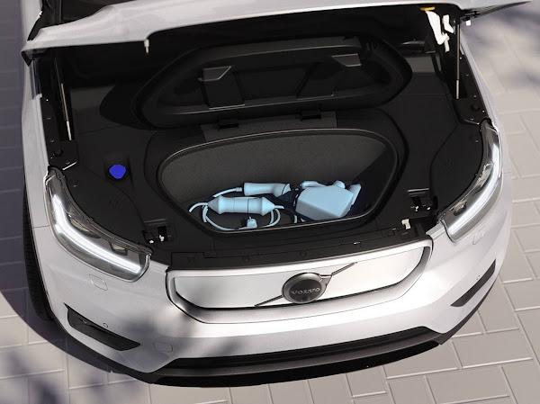 Volvo XC40 Recharge elétrico chega ao Brasil : preço R$ 389.950