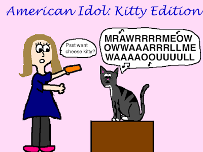 american idol with cats