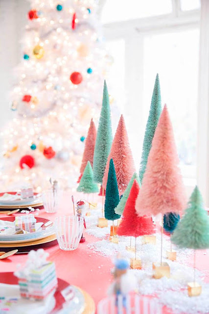idee deco originale table de noel