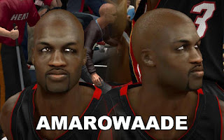 NBA 2K13 Joel Anthony Cyber Face Mod