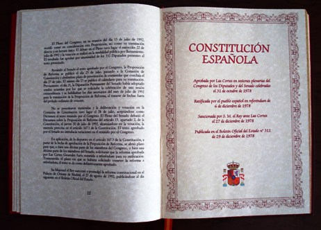 Política. La Constitución cumple 37 años
