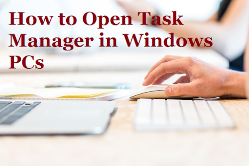 How to Open Windows Task Manager in windows 10