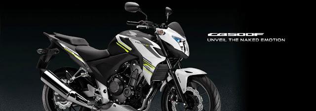 Penampakan Honda CB500F
