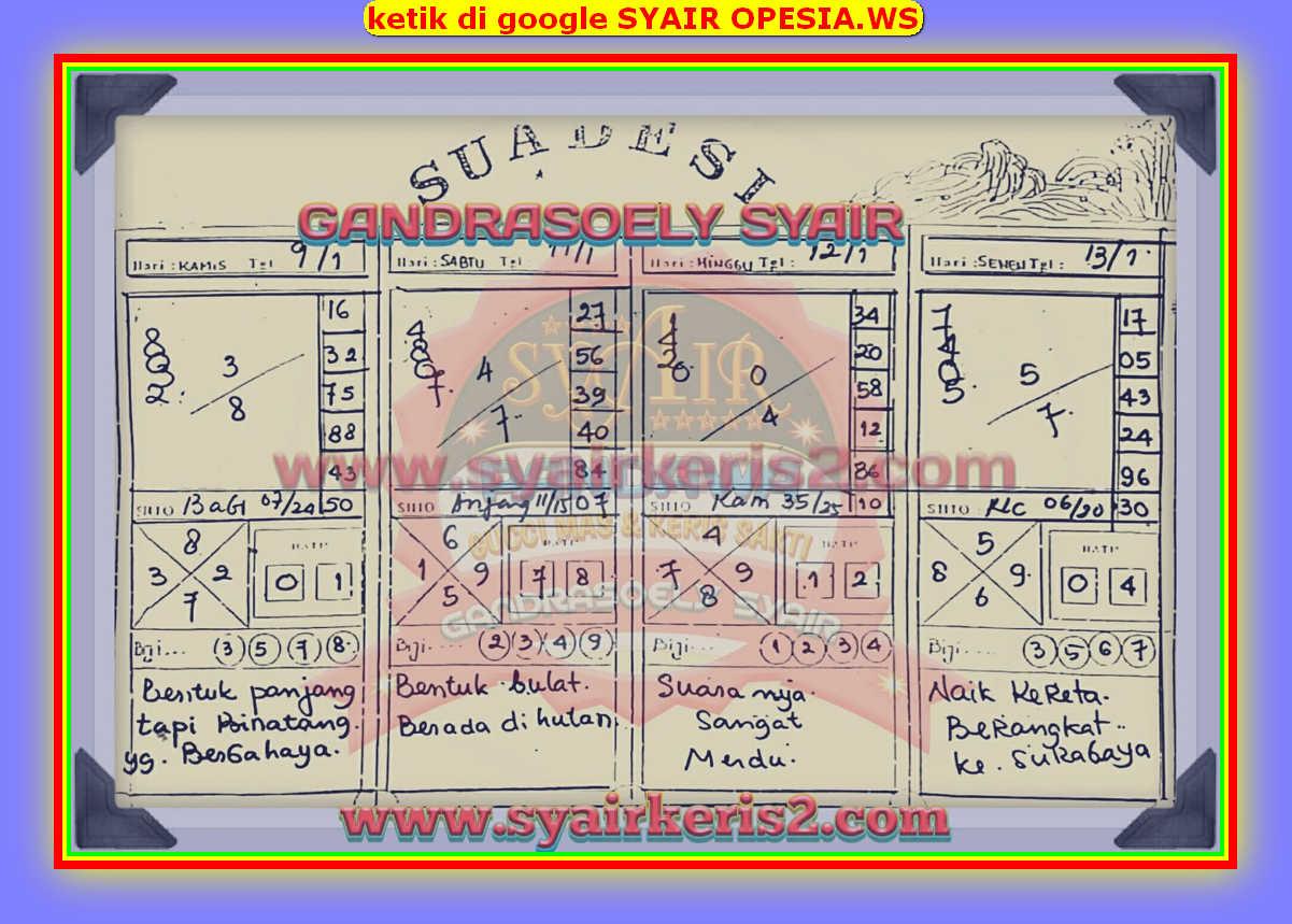 Syair singapore 13 Januari 2020 - KODE SYAIR SGP SYAIR HK