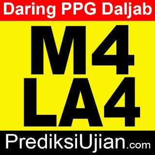 Jawaban PPG Daljab M4 LA4 Profesional