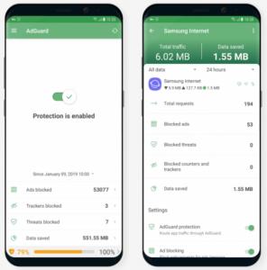Adguard Premium v3.3.42ƞ [Nightly] [Mod] APK