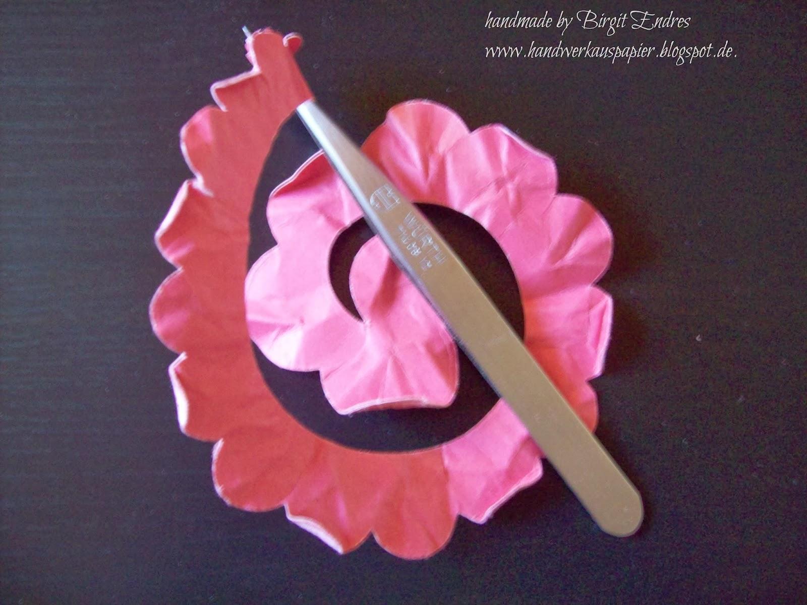 Handwerk Aus Papier Rosen Tulpen Nelken Alle Blumen Welken