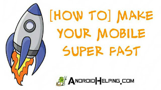 make android super fast