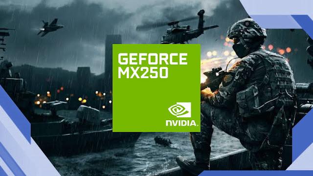 GPU NVIDIA GeForce MX250 untuk Maksimalkan Gaming dan Rendering